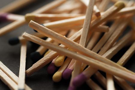 burning paper: match