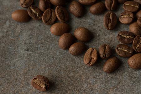 expresso: grain coffee Stock Photo
