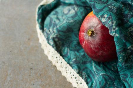 mango slice: juicy red mango. Stock Photo