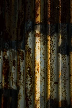 metal shield: metallic texture. rust on a metal shield