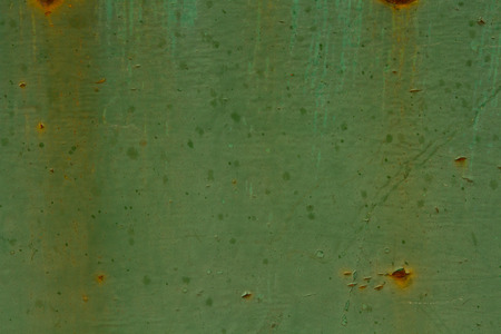 texture of old rusty metal green for design photo