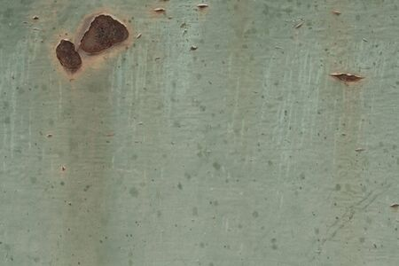 texture of old rusty metal green for design Stock Photo