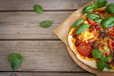 a taste of Italy in the Pizza Margherita