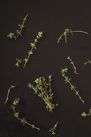 seasoning: seasoning herb thyme, Italian spices Stock Photo