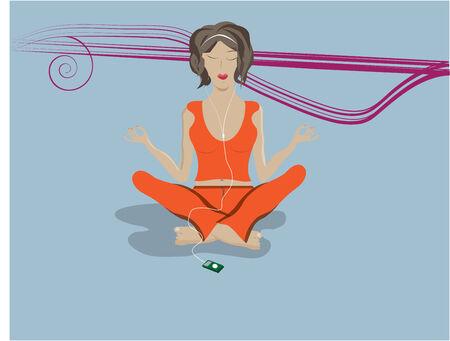 meditation Stock Vector - 7552958