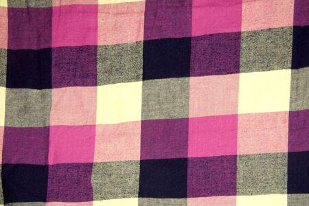 checkered tissue texture photo