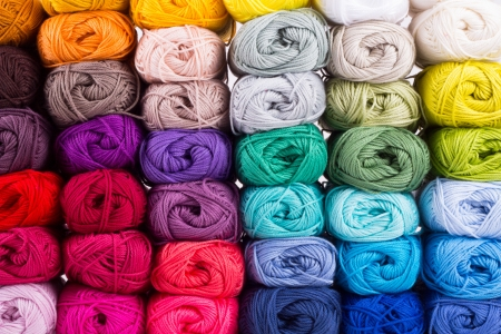 acrylic yarn: Skeins of Yarn