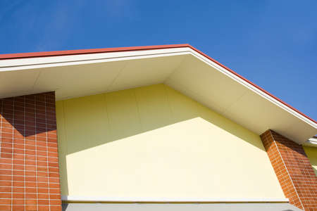 house gable: Image of gable of a house