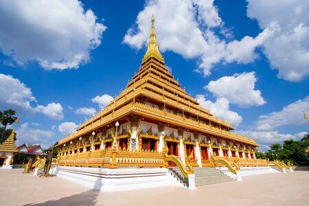 Temple in Thailand is named Phra-Mahathat-Kaen-Nakhon, Khon Kaen province, Thailand.