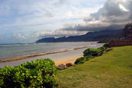 beach front: Beach front complete with view, this vacation rental can