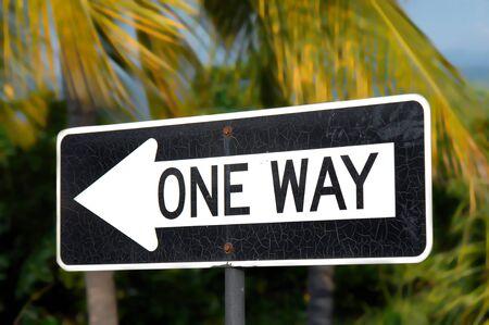 Traffic sign on Big Island of Hawaii reads