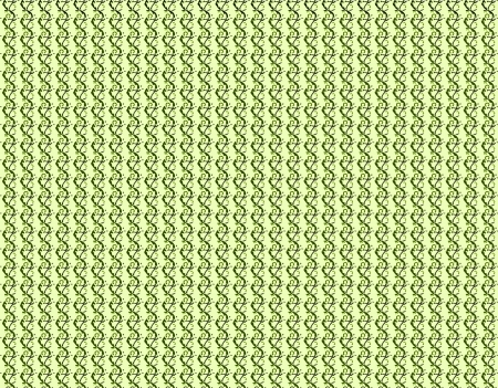 Repeating design of green ivy twists vertically down a horizontal image.  Background is pale green.  Image series comes in a pallete of three shades of green. Stock Photo - 15110192