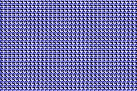 Rick rack design shows connecting smears of black and blue   Background graphic is horizontal with blurred pattern Stock Photo - 15110968
