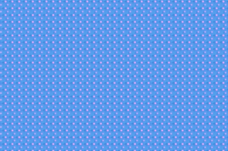 Blinking and glowing pink dots fill baby blue background. Stock Photo - 15109625