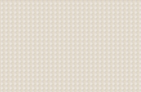 Creme colored background has rows of sublte dots of white.