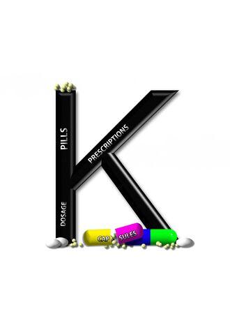 quot: K, in the alphabet set &quot,Healing&quot,