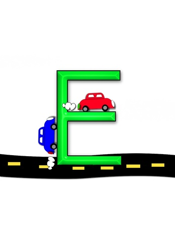quot: E, in the alphabet set &quot,Highway&quot,