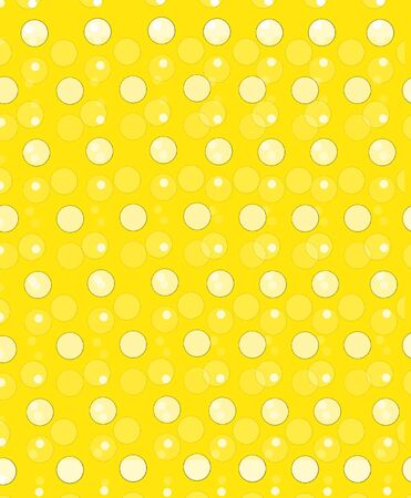 Soft focused polka dots are outlined in black.  Circles fill foreground and background. photo