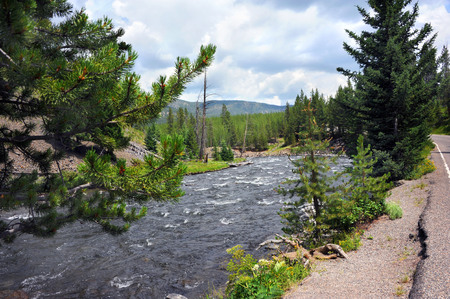 scenic drive: Firehold River races through the Firehole Canyon.  Scenic Drive through Firehold Canyon yields awesome views.
