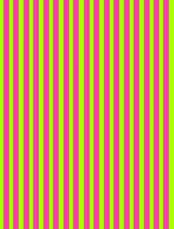 Background image is filled with lines of pink and lime green.