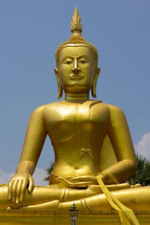 samadhi: Buddha Sculpture Stock Photo