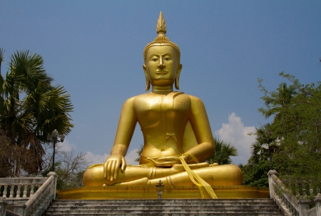 budda: Buddha Sculpture Stock Photo