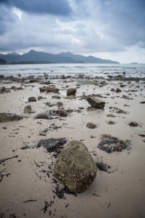 Small rocks at the beach
