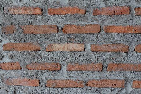 paredes de ladrillos: pared de ladrillo rojo