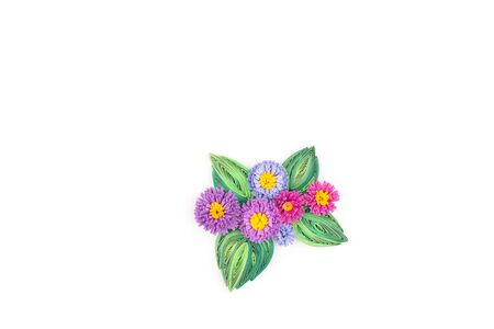quilling: Paper quilling,colorful paper flower