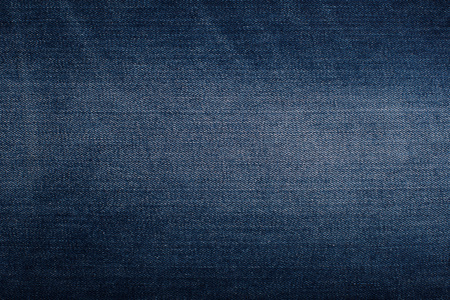 pleat: Background with texture of blue denim. Close up. Stock Photo