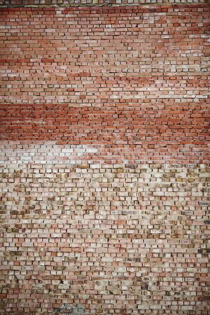 red brick wall, cement, brick structure, construction, brick background, solid wall