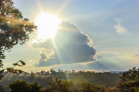 sunny cloud photo