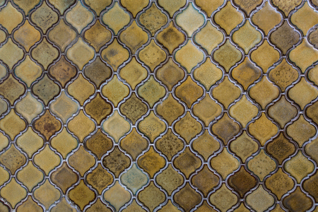 grazed: Detail of grazed tiles