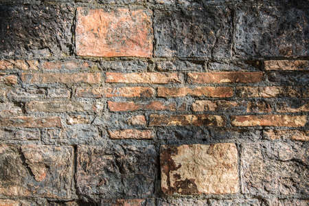 old brick wall: Old brick wall in a background image