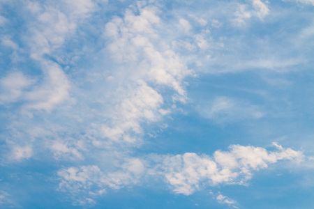 cloude: Sky and clouds in the morning. Stock Photo