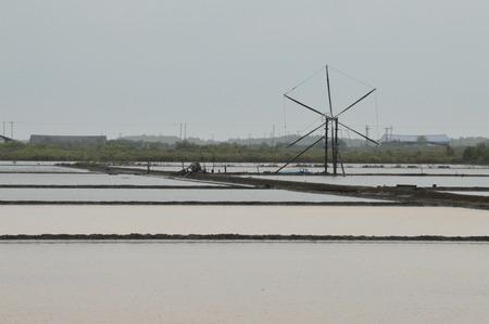 water turbine: Water turbine in Thailand Stock Photo