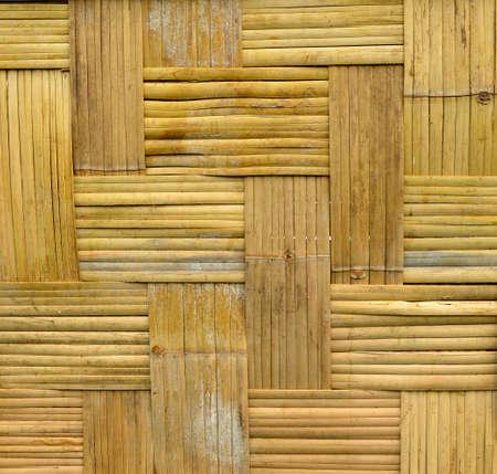 bamboo house: bamboo house wall Stock Photo