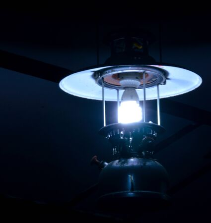 hurricane lamp: Using antique lamps decorate house and light source by fluorescent light