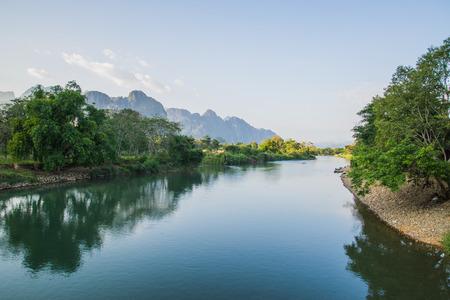 nam: Nam Song River Stock Photo