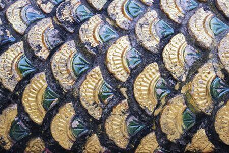 ceramica: La cer�mica de la piel de pescado. Foto de archivo