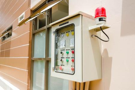 control box: Electronical control box