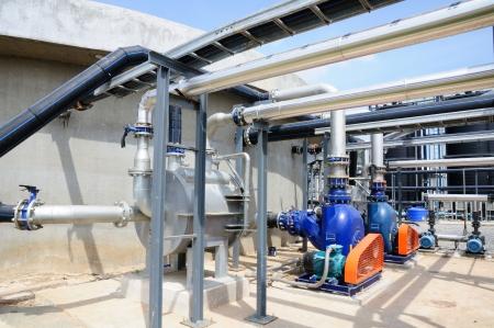 Biogas Plant Stockfoto