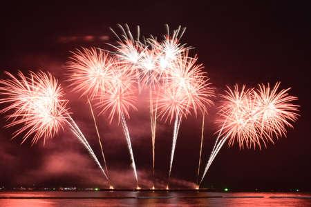 Fireworks Festival in Pattaya 2020, Thailand
