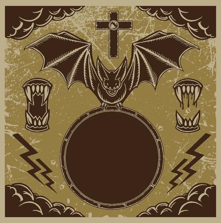tusk: Bat Emblem Tusk cloud set