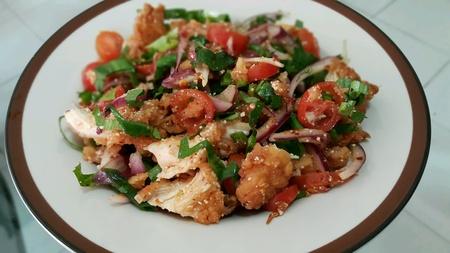 spicy chicken: Spicy Chicken Salad