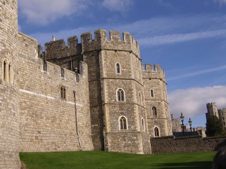 slits: Favourite residence of the Queen This Castle at Windsor dates back to the Normans
