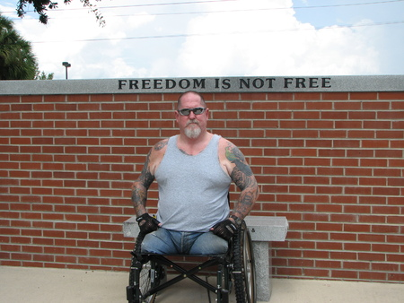 crippled: Disabled Vietnam Vet