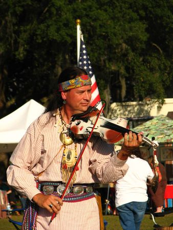 customs and celebrations: Native American Entertainer