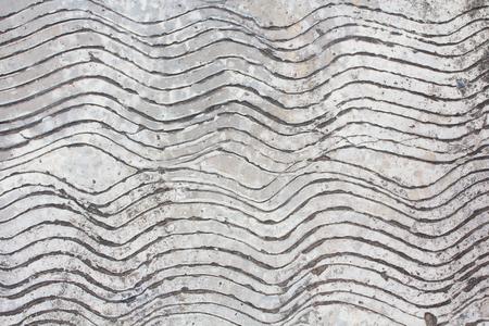 crumbling: cement furrow textures.