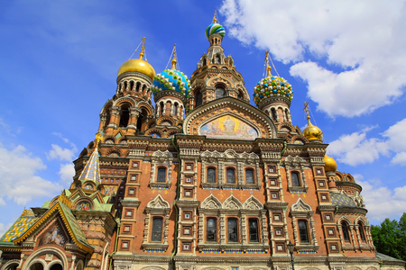 chappel: Church of the Saviour on Spilled Blood in St. Petersburg, Russia Stock Photo
